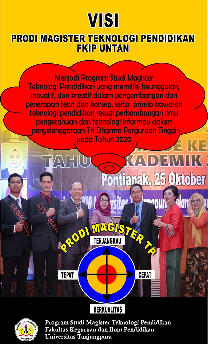 Visi Program Magister Teknologi Pendidikan